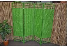 Paravan provázkový barva zelená - Sleva 40%