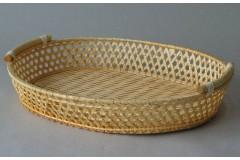 Bambusový tác oválný