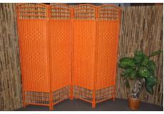 Paravan provázkový barva oranžová - Sleva 40%