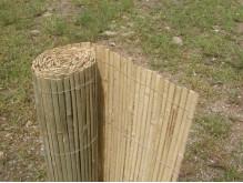 Bambusová rohož plotová - štípaná 100 cm