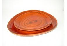 Bambusová miska oranž