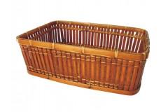 Košík bambusový M