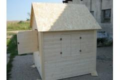 Dětský domek Axin II  s podlahou - skladem - doprava ZDARMA