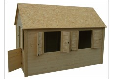 Dětský domek Axin Grande s podlahou - doprava ZDARMA