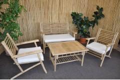 Souprava Haiphong - přírodní bambus - doprava ZDARMA