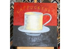 Obraz capuccino II 60x60 cm