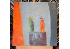 Obraz abstraktní svět  60x60 cm