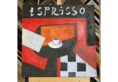 Obraz espresso II  60x60 cm