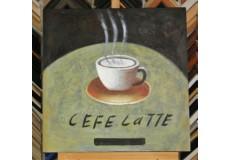 Obraz caffe latte 60x60 cm