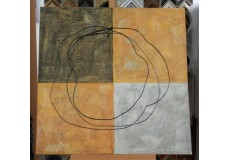 Obraz kruh života 90x90 cm